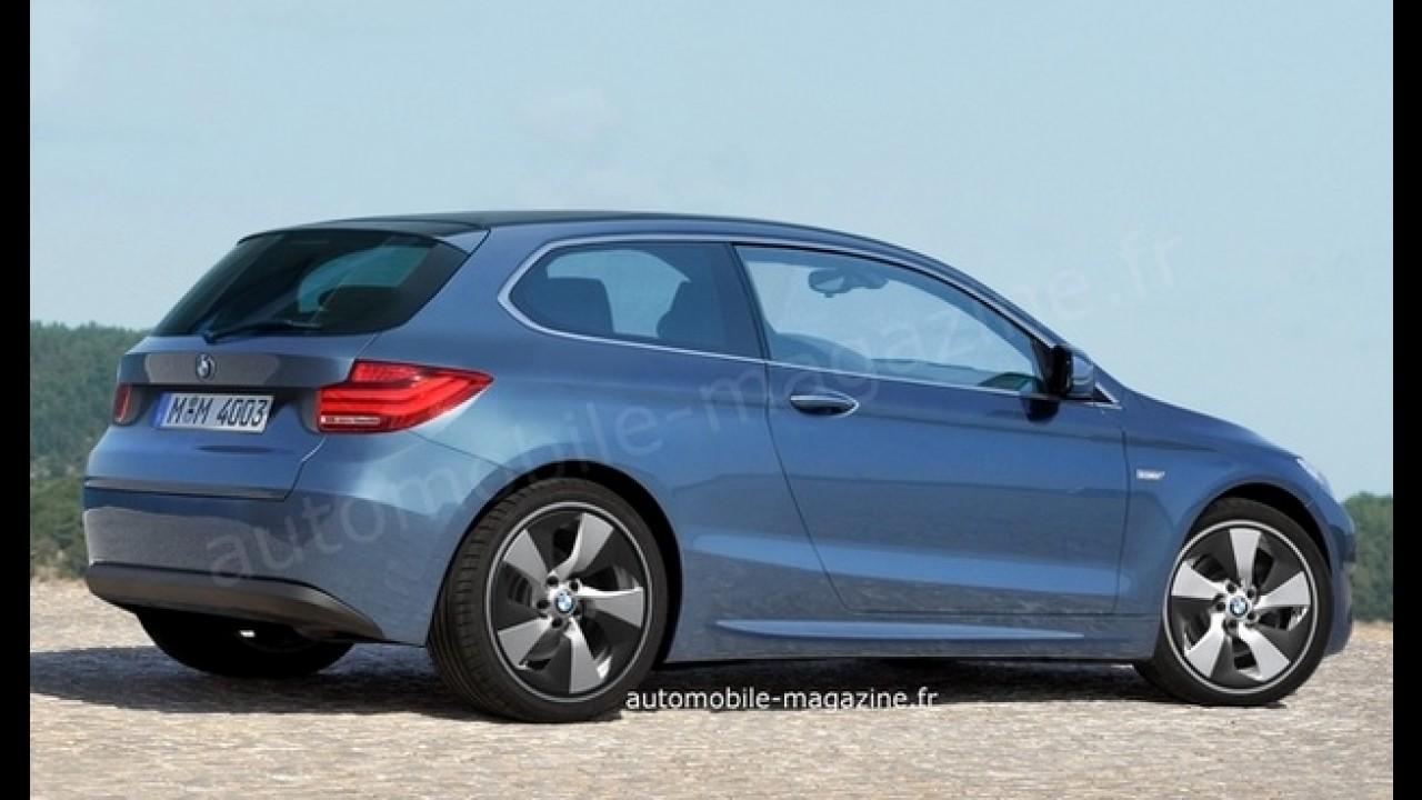 BMW trabalha em inédito compacto rival para o Audi A1, diz site