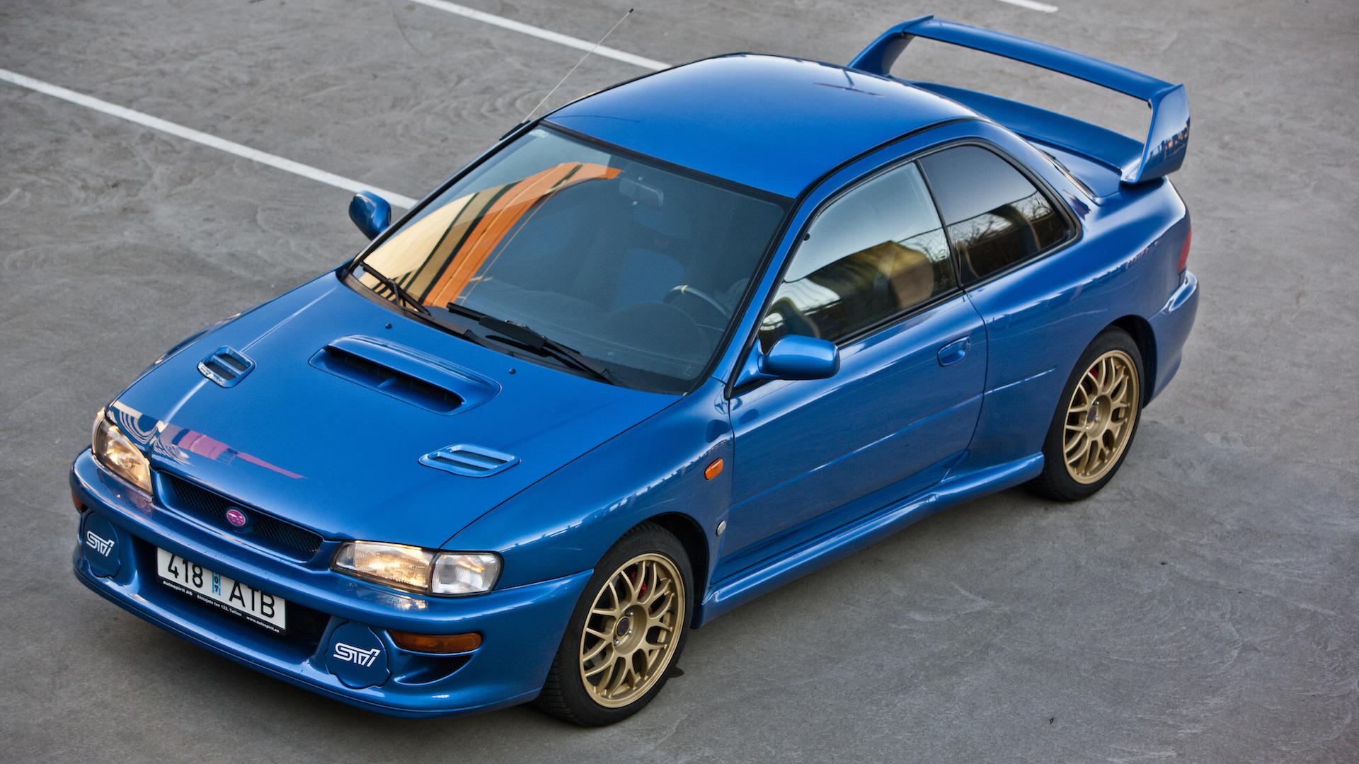 A Holy Grail Subaru Impreza 22B STi is up for sale