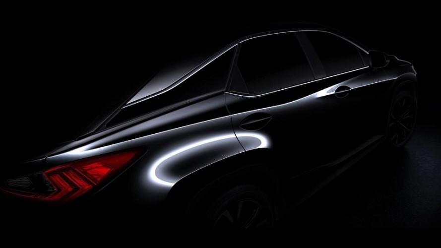 Em ritmo de expansão no Brasil, Lexus mostra teaser da nova geração do RX