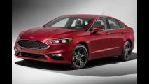 Ford Fusion 2017 ganha cara nova e versão esportiva com 330 cv - veja fotos