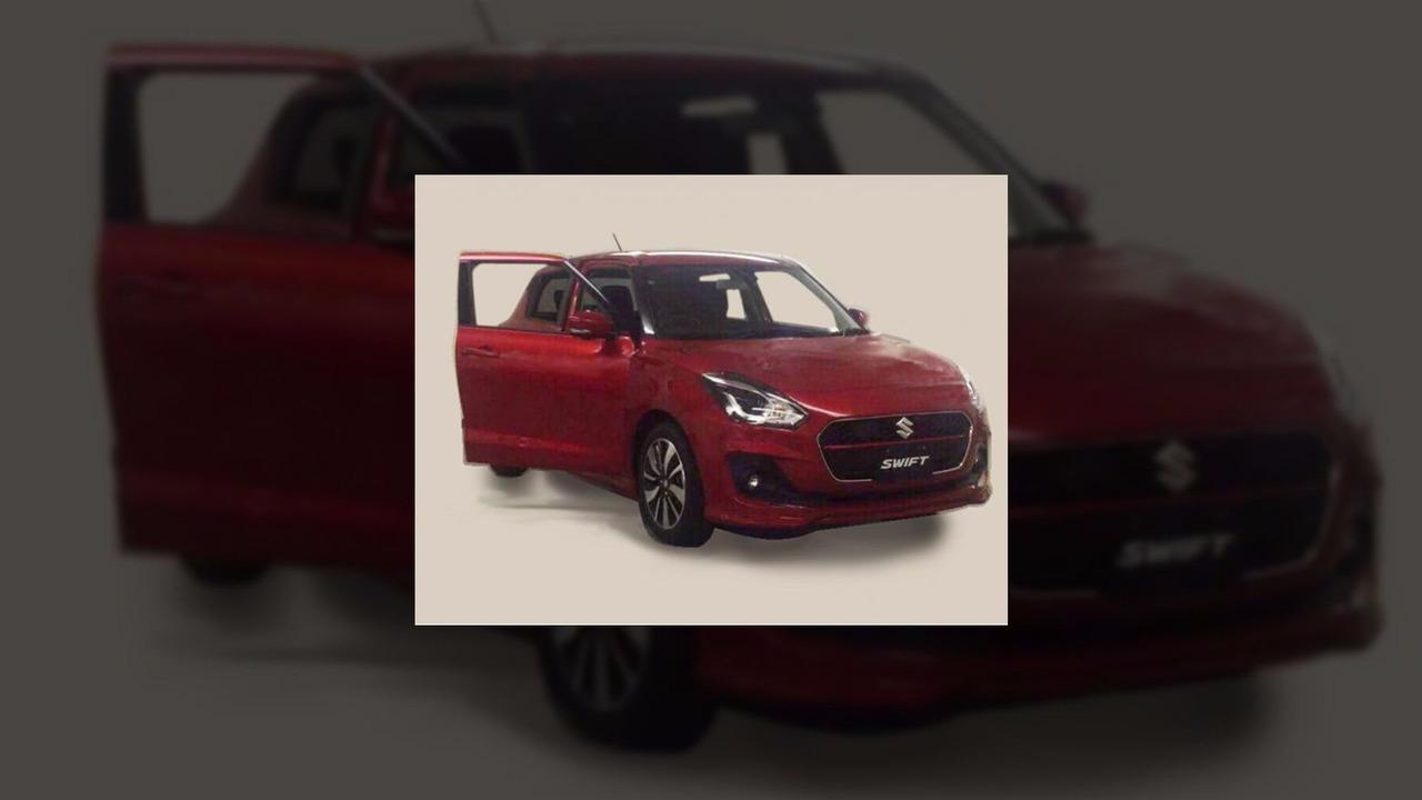 2017 Suzuki Swift'in sızdırılan görüntüsü
