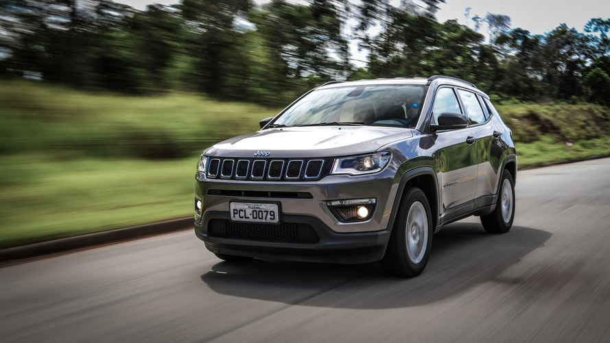 Jeep Compass 2018 terá versões 4x4 com motor flex e câmbio 9AT
