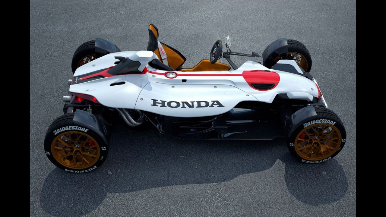 Conheça o Honda Project 2&4, mistura de moto e carro que estará em Frankfurt