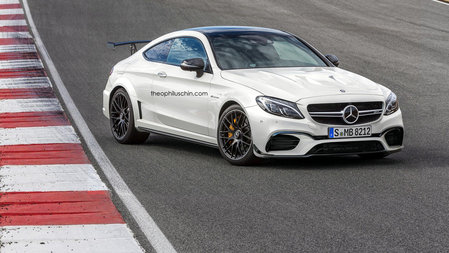 Mercedes-AMG C63 Coupe Black Series renders