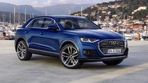 We imagine a more sophisticated 2018 Audi Q3
