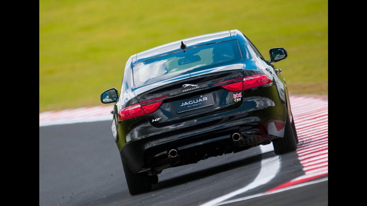 Volta Rápida: Jaguar XF bebe na fonte do XE e quer a liderança do segmento
