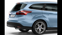 Ford Focus station wagon restyling
