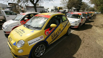 Fiat 500 Celebrity Race at Australian GP