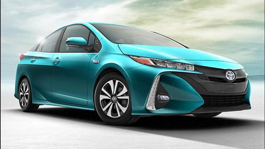 Toyota Prius Plug-In Hybrid, più di 50 km in elettrico
