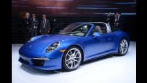 Nuova Porsche 911 Targa - Foto live dal Salone di Detroit 2014