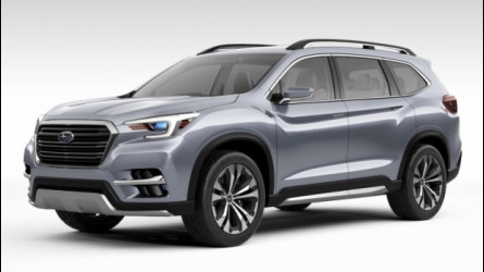 Subaru Ascent Concept, il SUV a 7 posti