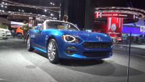 Fiat 124 Spider al Salone di Detroit 2016