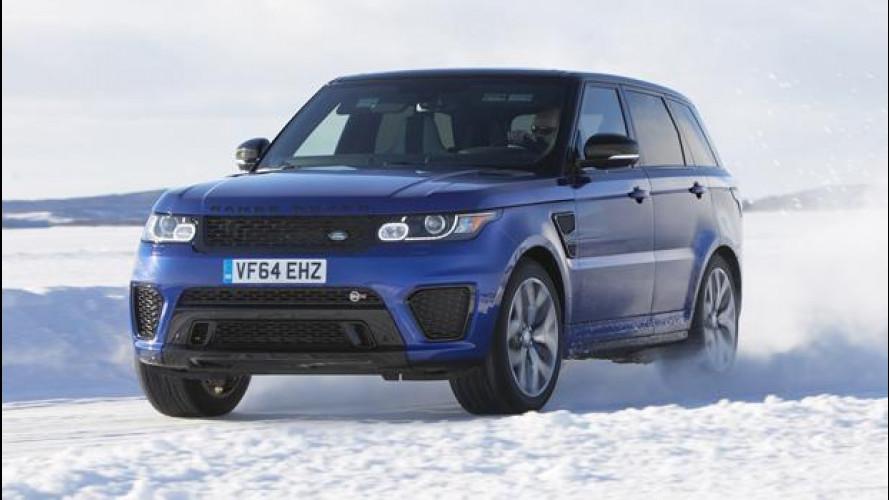 Range Rover Sport SVR, folle corsa al Circolo Polare Artico [VIDEO]