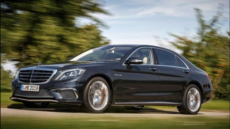 Nuova Mercedes S 65 AMG