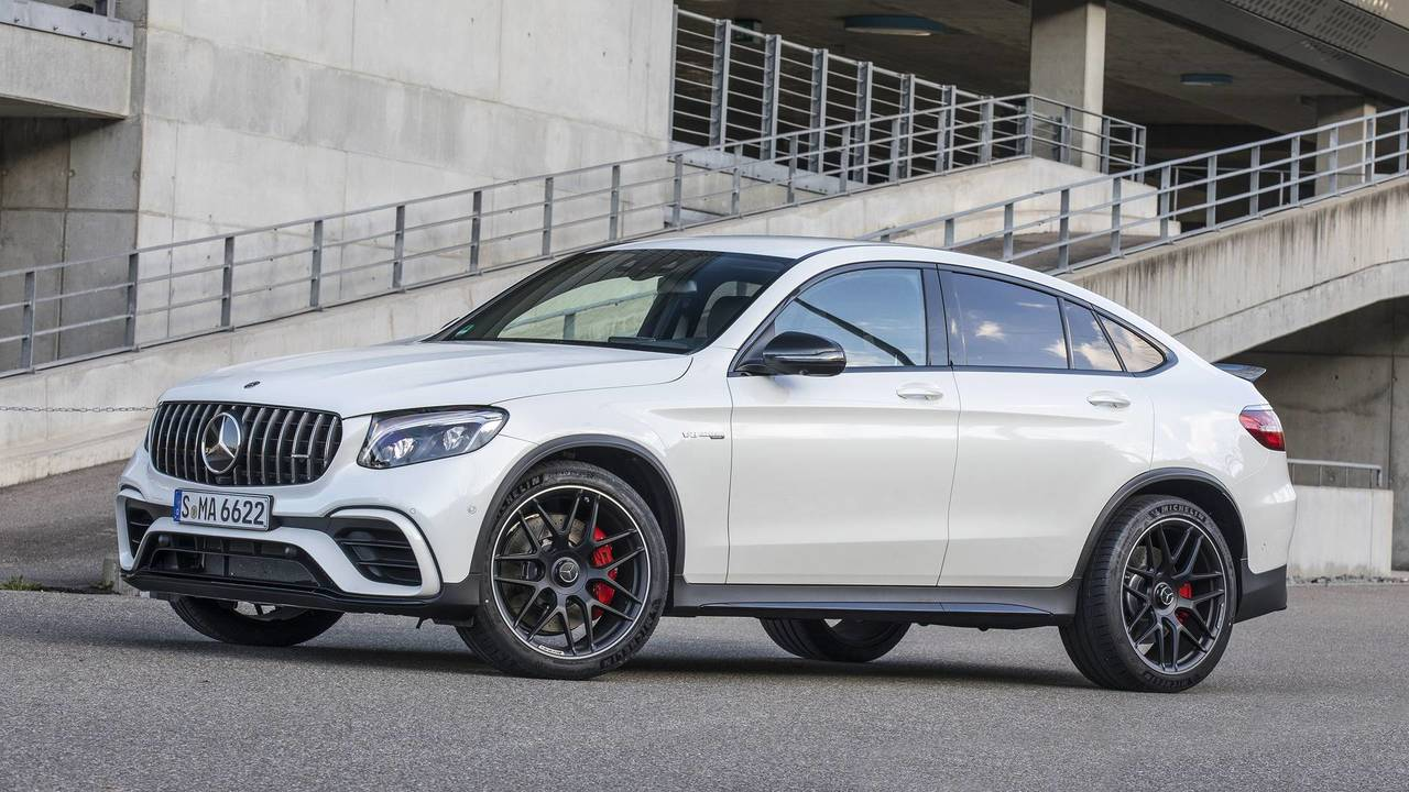 2018 mercedes amg glc63 coupe first drive because why not. Black Bedroom Furniture Sets. Home Design Ideas