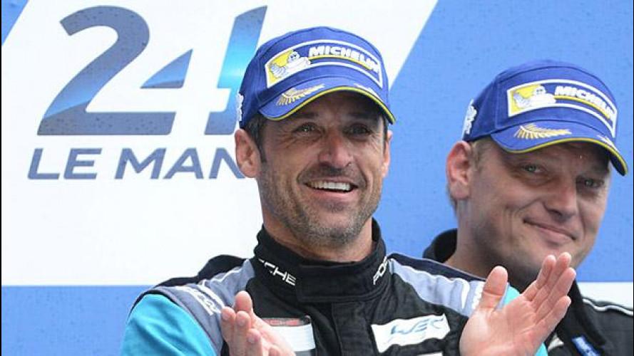 Patrick Dempsey, da Grey's Anatomy al podio di Le Mans