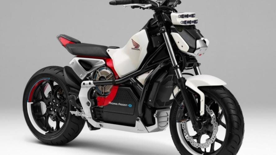 Honda mostrará moto elétrica e autônoma no Salão de Tokio