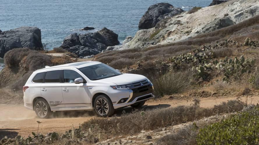 Mitsubishi Outlander PHEV Gets EPA Rating, 22-Mile Electric Range