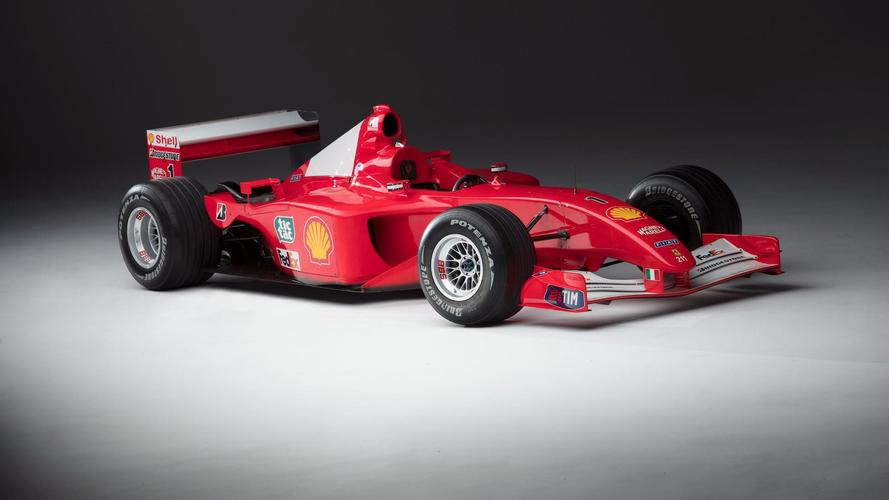 2001 Scuderia Ferrari Marlboro F2001