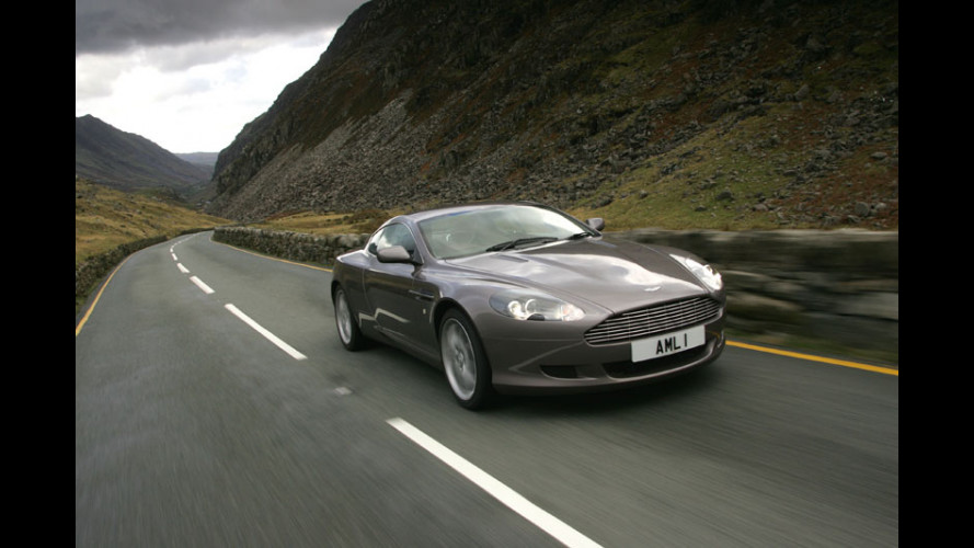 Aston Martin DB9 Coupé Sport Pack