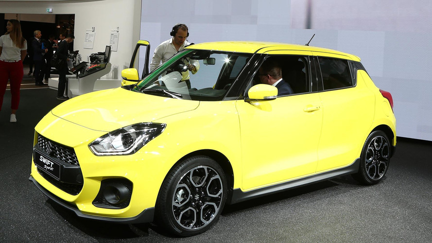 2018 Suzuki Swift Sport Adds Turbo, Removes Weight