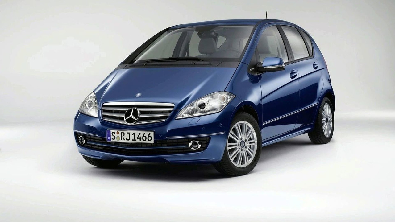 Current Mercedes A Class facelift