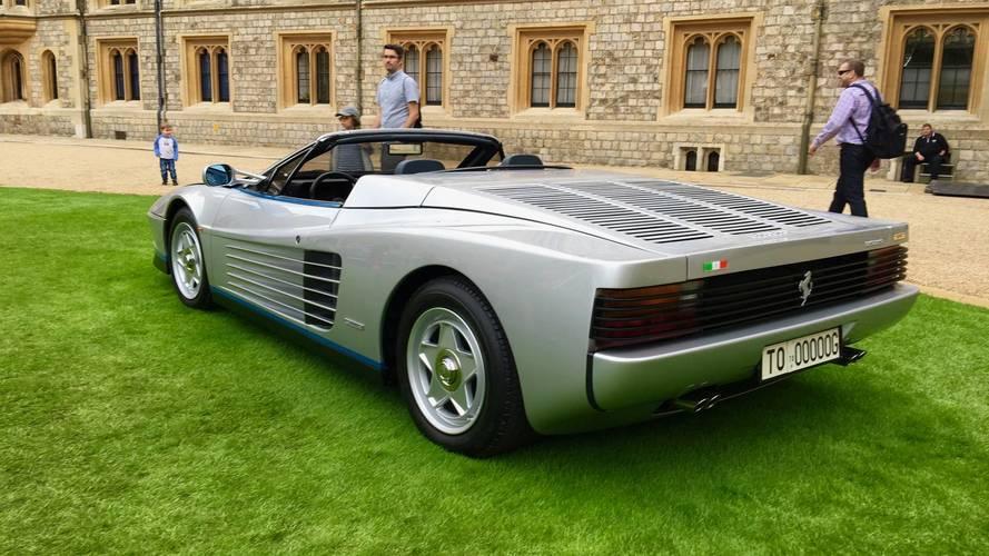 Découvrez la seule Ferrari Testarossa Spider au monde