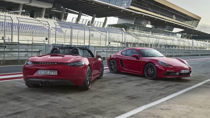 15 lóerővel fokozta a Porsche a 718 Boxster és Cayman teljesítményét: GTS