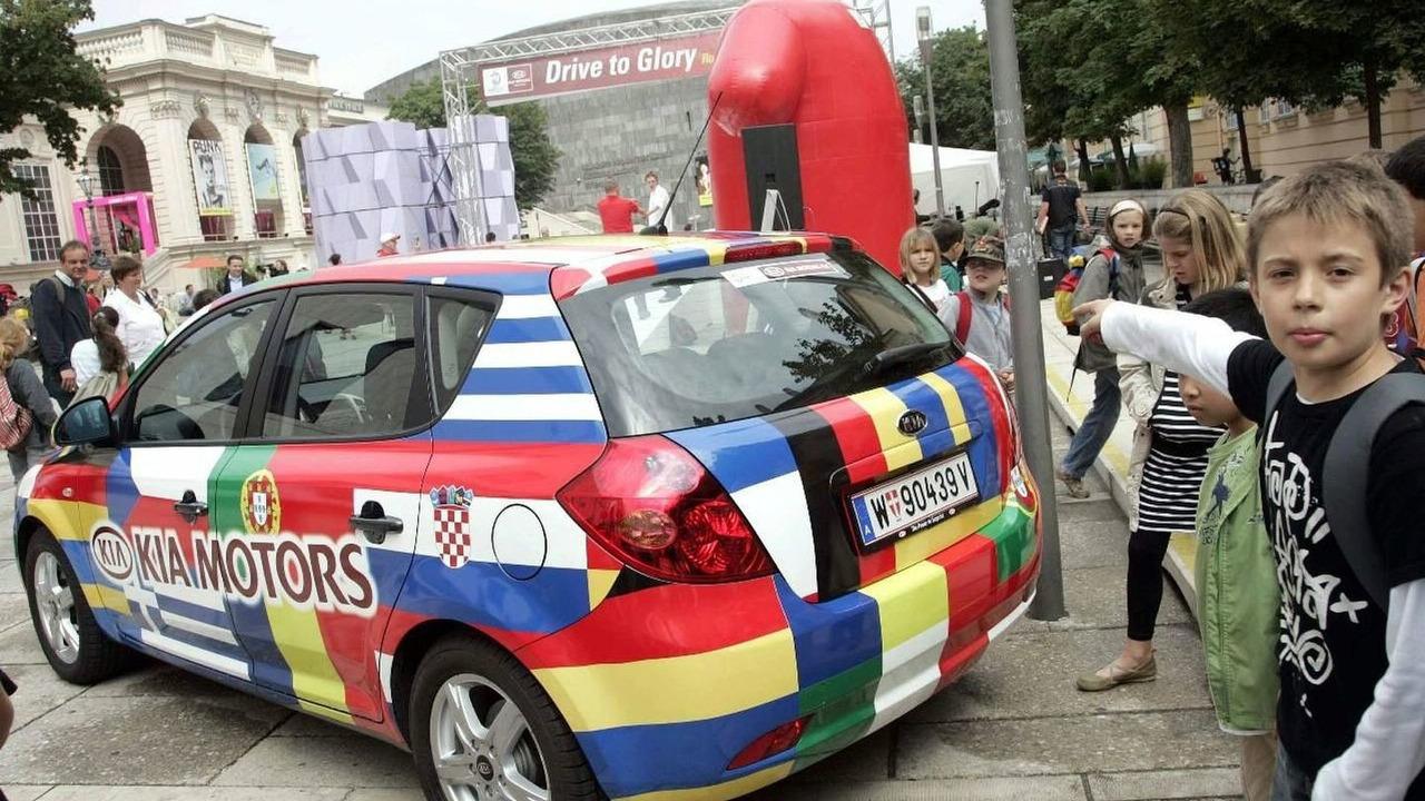 Kia at EURO 2008