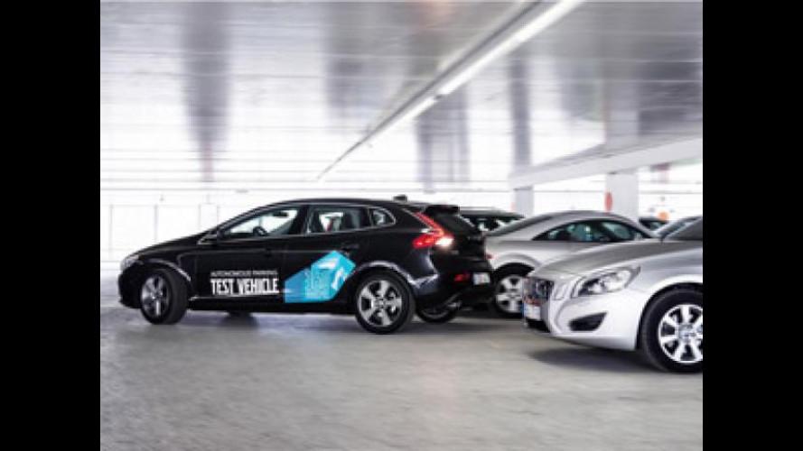 Con Volvo le auto parcheggiano da sole