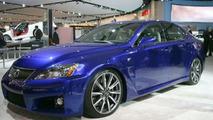 Lexus IS-F Performance Sedan Unveiled