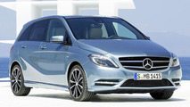 2012 Mercedes B-Class leaked image