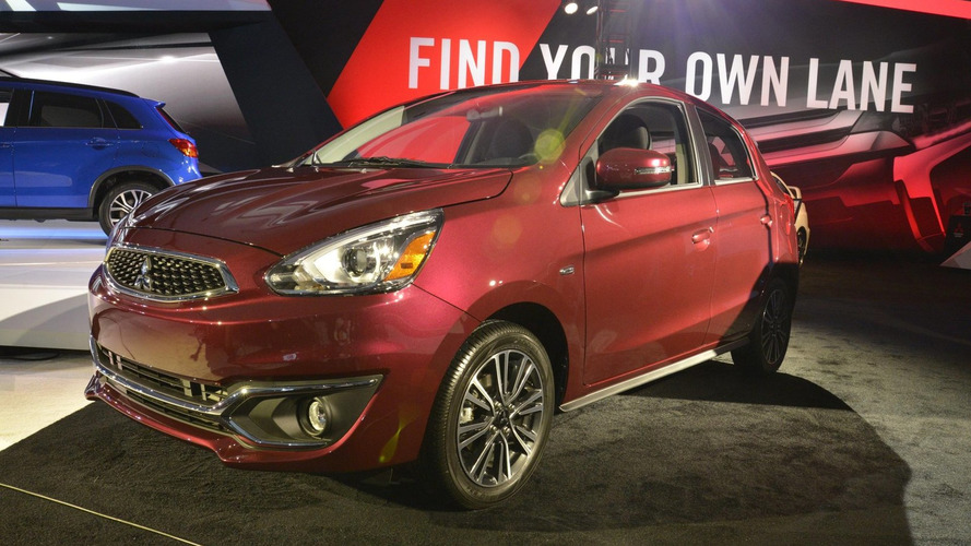 2017 Mitsubishi Mirage unveiled with revised styling & an upgraded engine