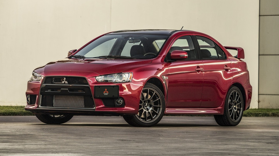 Mitsubishi to auction off first production Lancer Evolution Final Edition for National MS Society