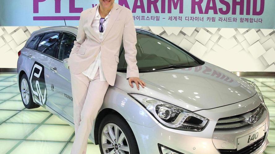 Hyundai i40 art car announced for the Seoul Motor Show