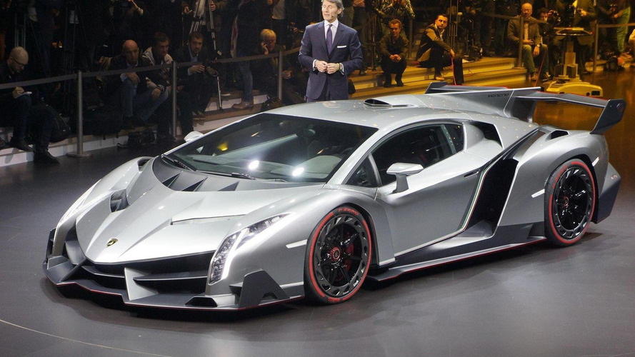Lamborghini Veneno Roadster officially confirmed