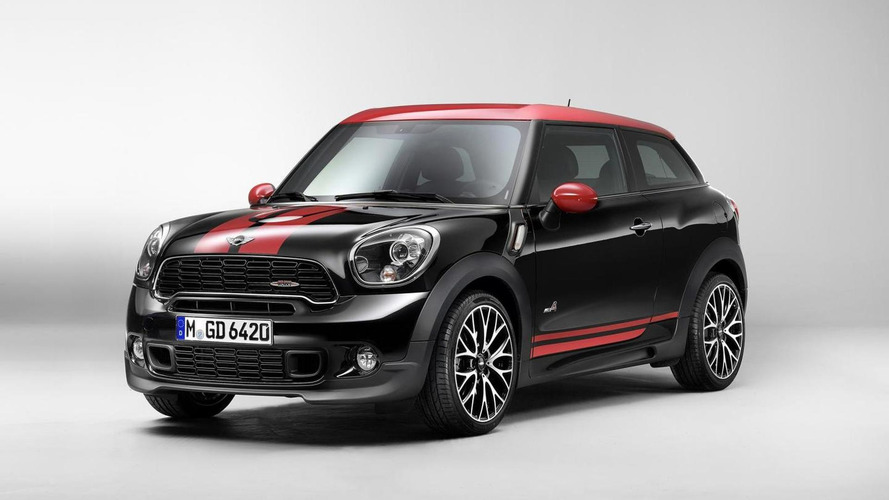 2013 MINI Paceman John Cooper Works officially revealed