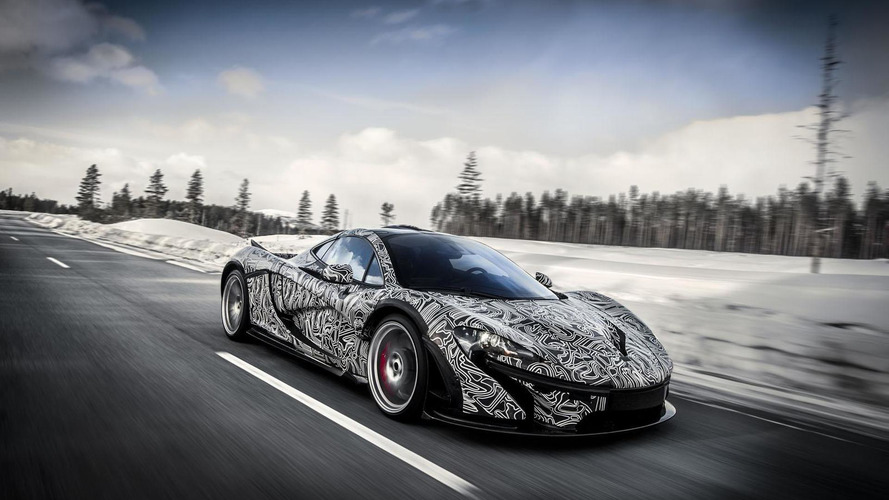 McLaren P1 heads to the Arctic Circle for a final round of testing [video]