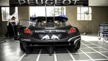 Peugeot 208 T16 Pikes Peak race car 23.04.2013