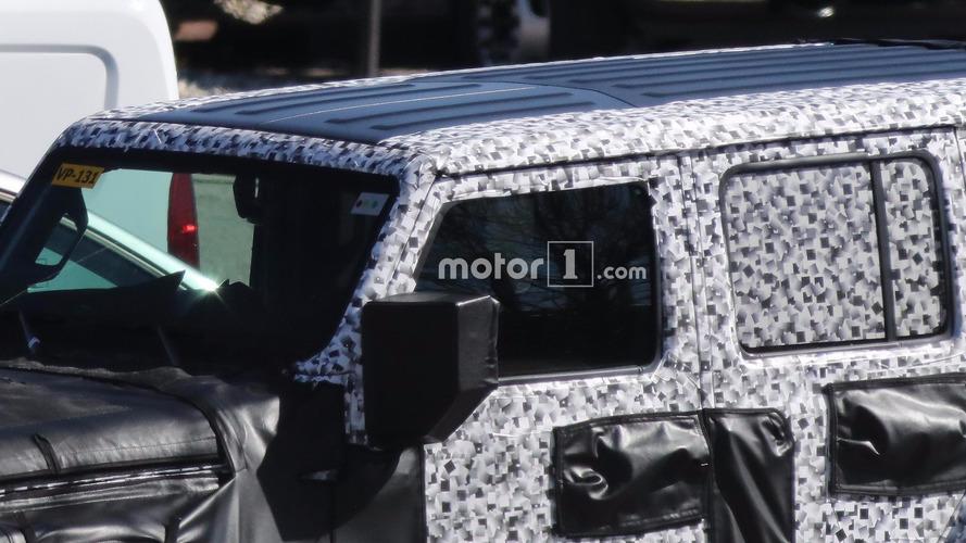 Jeep Wrangler casus fotoğrafları (Çıkarılabilir Tavan Panelleri)