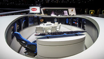 Bugatti stand at the 2017 Geneva Motor Show