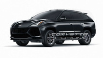 Render Corvette SUV