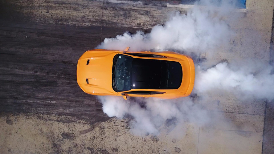 Now the EcoBoost Mustang Has Line-Lock for Smoky Four-Cylinder Burnouts