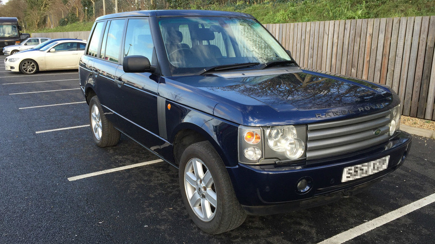 George Michael's battered Range Rover is on eBay