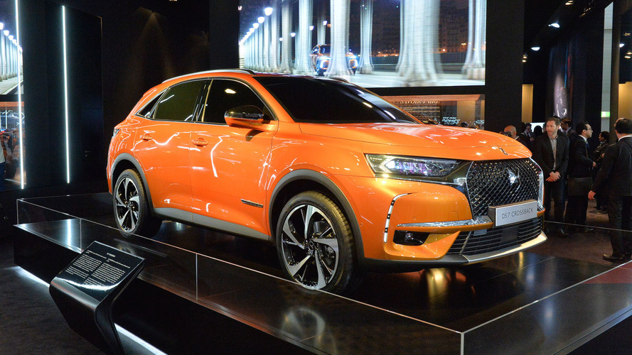 New DS 7 Crossback shows its sophisticated lines in Geneva