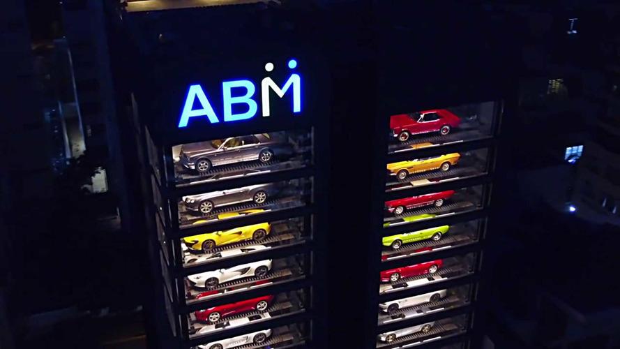Así es el expendedor de coches más grande del mundo