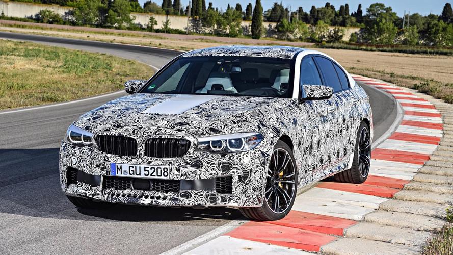 2018 BMW M5 Debuting In 2 Weeks, Just Before Frankfurt Show