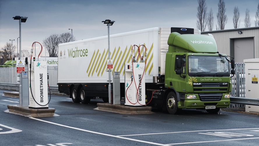 Food waste to power Waitrose's trucks of the future