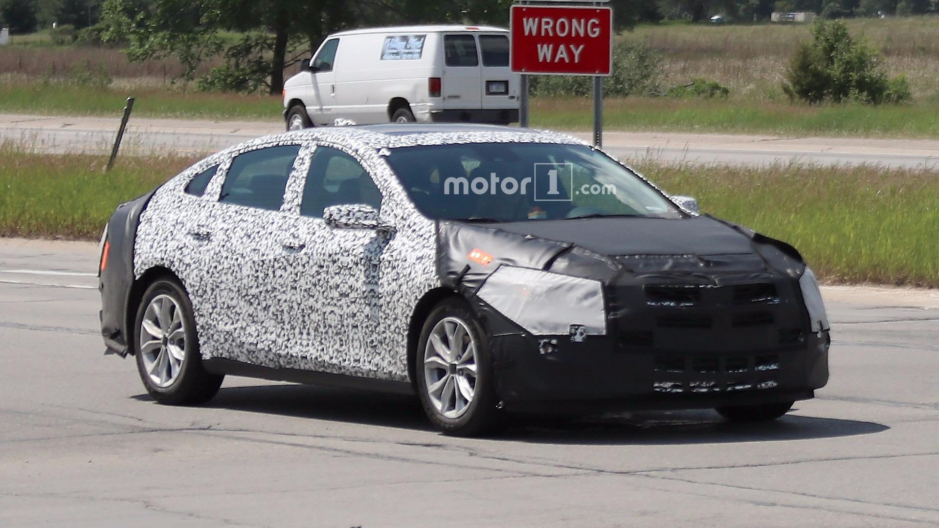 Acura Of Milford >> 2019 Chevy Malibu Prototype Caught Hiding In Plain Sight