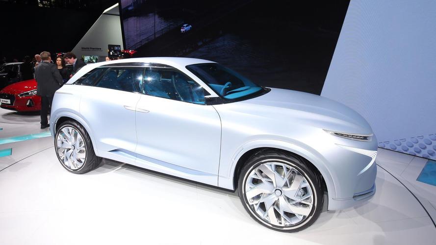 Hyundai FE Fuel Cell Concept prevê futuro com hidrogênio em Genebra